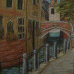A Quiet Canal, 30cm x 20 cm, Pastels, 2014