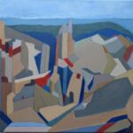 Bryce Canyon II, Acrylics, 30 x 30cms, 2015
