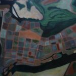 Corniche, Acrylics, 340 x 50 cms, 2014