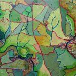 Longcross, Acrylics, 20 x 40 cms, 2015 (NFS)