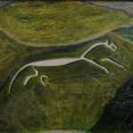 The White Horse, mixed media, 30 x 40 cms, 2015 (sold)