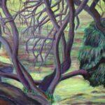 The Way of trees, Acrylics, 30 x 40 cm, 2013