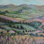 Dartmoor I, Mixed Media, 40 x 50cm, 2017
