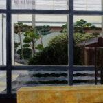 The Quiet of Japan, San Francisco:  Acrylics, 50 x 70 cm, 2020